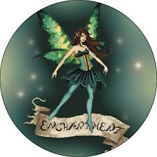 Amy Brown Enchantment Fairy Faery Button Pin Badge New