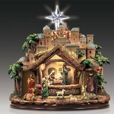 Following the Star Nativity Christmas Figurine - Bradford Exchange