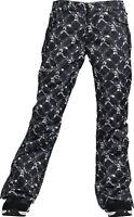 BURTON Women's GUARD Snow Pants - Link Up Black - Size Medium - NWT
