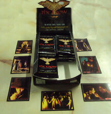 CROW CITY OF ANGELS 30 MOVIE TRADING CARDS PLUS BOX