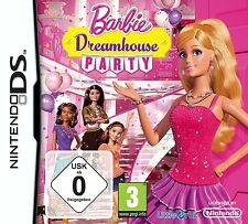 - Barbie Dreamhouse Party -Komplett- Nintendo DS Spiel -