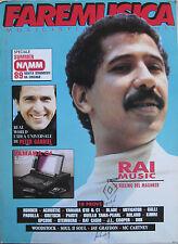 FAREMUSICA 102 1989 Cheb Khaled Peter Gabriel Paul Winter Jay Graydon McCartney