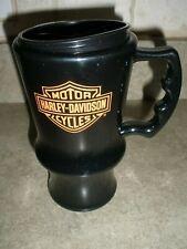 Harley Davidson Travel Mug Phillips 66 Cruisin Coffee 16 oz Black MINT