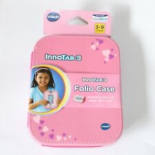 vTech Pink Folio Case Travel Protector & Stand for Innotab 3 Learning App Tablet