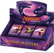 MAGIC THE GATHERING 2017 ICONIC MASTERS ENGLISH BOOSTER BOX PRIORITY SHIPPING