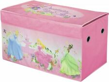 Disney Princess Dress Up Trunk for Girls Costume Clothes Room Storage Kids Chest