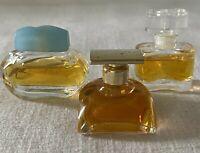 VTG Lot 3 Mini Estee Lauder Parfum Spellbound White Linen Knowing Perfume Splash