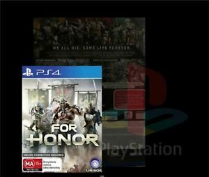 PS4 / FOR HONOR (PS4 GAME) BRAND NEW, FREE POSTAGE.