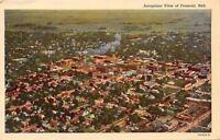 Fremont Nebraska~Aeroplane View Of Fremont~1920s PC