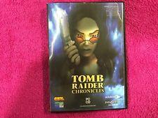 TOMB RAIDER CHRONICLES CON LARA CROFT PARA PC CD ROM EIDOS