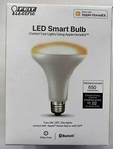 Feit Electric LED Smart Bulb BR30/SW/HK 120V 8.2W 650 Lumens - Apple HomeKit