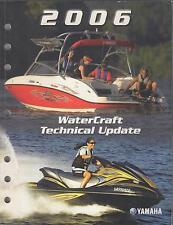 2006 YAMAHA PERSONAL WATERCRAFT LIT-18500-00-06 TECHNICAL SERVICE MANUAL (814)