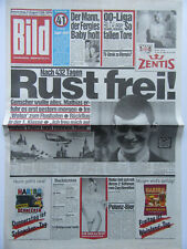 Bild Zeitung 4.8.1988, Matthias Rust, Costa Cordalis