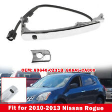 Front Left Outside Chrome Door Handle Smart Entry For Nissan Rogue 2010-2013