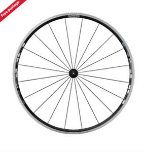 """Shimano Tiagra WH-R501-CL-F Front Wheel, 700c 28"""" - Best worldwide price!!"""