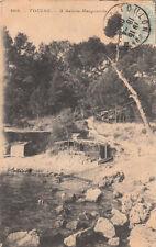 TOULON 408 à sainte-marguerite timbrée 1906