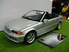 BMW série 3 cabriolet gris au 1/18 KYOSHO occasion voiture miniature de collecti