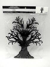 """12"""" Tall Haunted Black Leafless Tree Halloween Party Table Centerpiece Decor"""