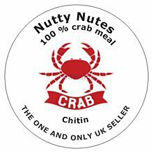 organic fertilizer, Chitin,  crab meal , from the shore to your door  2  kilo