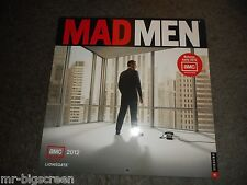 MAD MEN - 2012 WALL CALENDAR - JON HAMM/CHRISTINA HENDRICKS