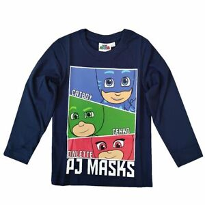 PJ Masks Kids T-Shirt Catboy Gekko Owlette
