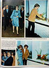 GRACE KELLY, ALBERT DE MONACO => 1 page 1972 Spanish CLIPPING ~COUPURE DE PRESSE