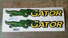 John Deere Gator Decals Stickers Set of 2 M159258 HPX TE CS CX TH TS TX XUV WOW