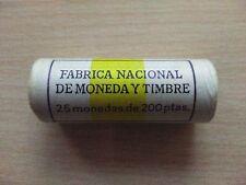 CARTUCHO FNMT DE 25 MONEDAS DE 200 PESETAS  AÑO 1992 ( caballo )  ( MB10031 )