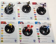 Heroclix Batman: SoG set COMPLETE lot of 6 Fast Forces Birds of Prey figs w/card