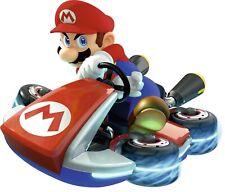 Mario Kart Adhesive Wall Decal - Home Bedroom Living Room Super Mario Bros Decor