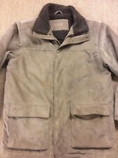 Men's MAINE Large Addison Coat Cord Corduroy jacket Brown Superb