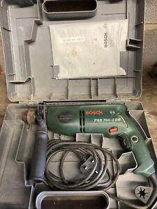 Bosch PSB 750 - 2RE   Hammer Drill Keyless Chuck 240v mains corded