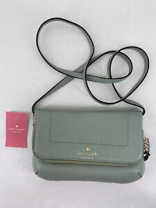 Kate Spade Mansfield Marianna Crossbody Shoulder Bag Light Pistachio $158 NWT