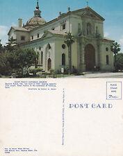 1960's St PAULS DAYTONA BEACH FLORIDA UNITED STATES UNUSED COLOUR POSTCARD