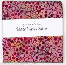 "Moda FABRIC Charm Pack ~ MAKE WAVES BATIKS ~ 40 - 5"" squares"