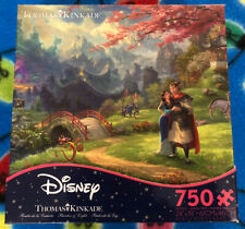 Thomas Kinkade Disney Mulan 750 Piece Puzzle! New! Free Shipping