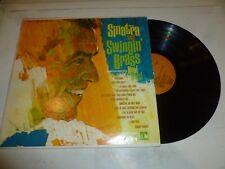 FRANK SINATRA - Sinatra And Swingin' Brass - 1981 US 2-colour Reprise LP