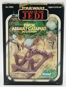 Star Wars ROTJ Ewok Assault Catapult Accessory 1983 Kenner No. 71070 NEW