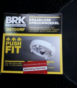 BRK DS700RF Wireless Interconnection Base to interlink smoke & heat Alarms. NEW