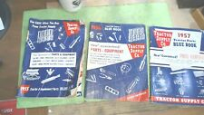 Vintage Tractor Supply Co 1955 56 57 Tractor Parts Equipment Book Catalog