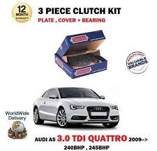 Pour Audi A5 3.0 Tdi Quattro 240BHP 245BHP 2008-- > Neuf Kit Embrayage 3 Pièces