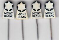 4 pins pin badge anstecknadel MONT BLANC montblanc Fountain pen advertising