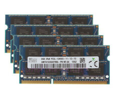 32 GB RAM SK Hynix 4x 8 GB DDR3L PC3L-12800 1600MHz SODIMM Laptop Memory CL11