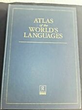 ROUTLEDGE REFERENCE  ATLAS OF THE WORLD'S LANGUAGES    1st Edition 1994