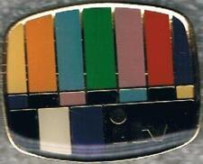 Undated Colorful ITV Media Pin
