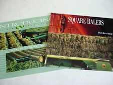 2 John Deere Hay & Square Balers Equipment Brochures                   b4