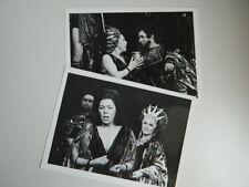2 photo Opéra Purcell Didon et Enée Janet BAKER Aix en Provence 1978