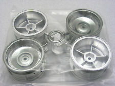Tamiya 58627 Mitsubishi Pajero Black SP LowRider CC01 Complete Plated Wheel Set