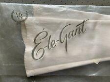 Van Raalte Ele-Gant White Women's Vintage Evening Soft Cotton Gloves Size 6.5