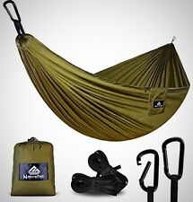 Ultra Light Travel Camping Hammock Breathable Quick Drying Parachute Nylon New